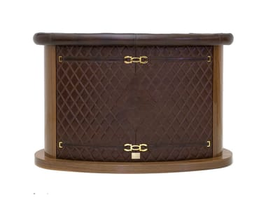 Leather bar counter MICKY | Bar counter