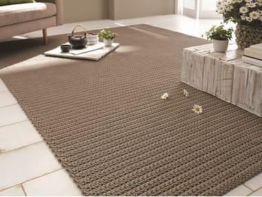 Rectangular fabric rug BARBADOS