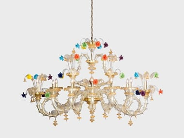 Murano glass chandelier BARCHETTA DELUXE