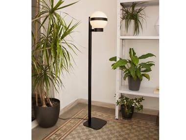 LED floor lamp BARCINO GLASS F