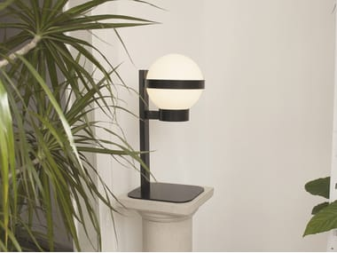 LED table lamp BARCINO GLASS T