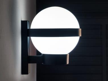 Handmade metal and glass wall lamp BARCINO GLASS W1
