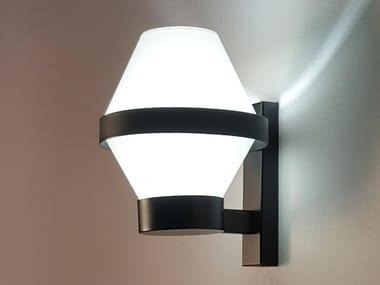 Handmade fabric and metal wall lamp BARCINO SHADE W1