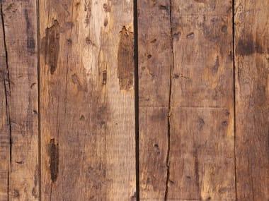 Wand- und Bodenbelag aus wiederverwendetem Holz BARNWOOD PROVENCE EXPRESS