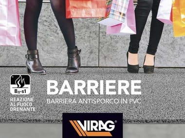 Barriera antisporco in PVC BARRIERE