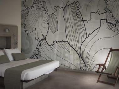 Papel de parede lavável panorâmico de vinil BARTENDER / DAIQUIRI