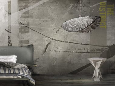 Papel de parede lavável panorâmico de vinil BARTENDER / STINGER