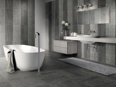 Porcelain stoneware wall/floor tiles with stone effect BASALIKE