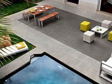 Pavimento/rivestimento effetto pietra per interni ed esterni BASALTINA STONE PROJECT NATURALE
