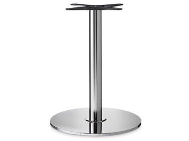 Stainless steel table base BASE 431