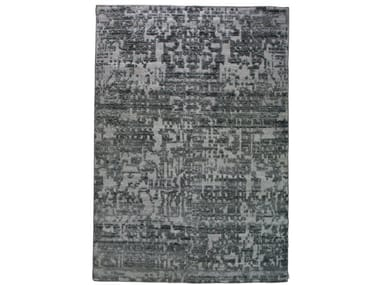 Handmade rectangular rug BASEL