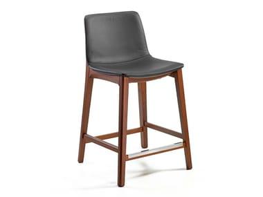 Upholstered stool BASSANO | Stool