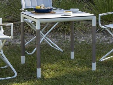 Table de jardin carrée BASTINGAGE | Table carrée