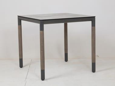 Table de jardin carrée BASTINGAGE | Table