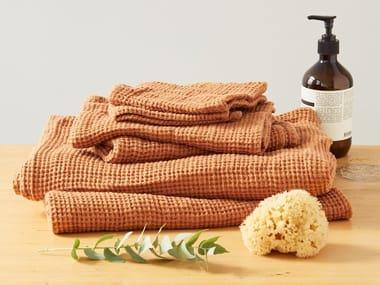 Linen waffle towel MEERKAT | Bath Towel