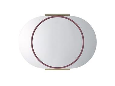 Oval wall-mounted bathroom mirror SCOTTIE | Bathroom mirror