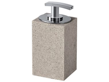 Resin Bathroom soap dispenser MINERVA | Bathroom soap dispenser