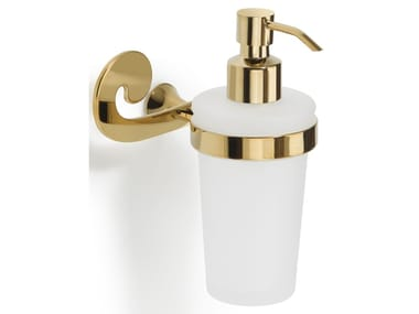 Wall-mounted glass Bathroom soap dispenser SISSI | Bathroom soap dispenser