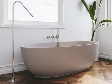 Vasca da bagno centro stanza in Solid Surface REVOLUTION® | Vasca da bagno