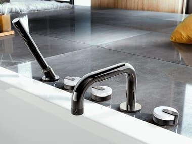 5 hole bathtub set with hand shower MOD+ | Bathtub set