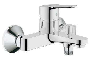 Wall-mounted single handle bathtub / shower mixer BAUEDGE | 2 hole bathtub mixer