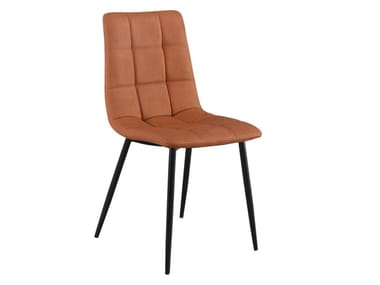 Upholstered Imitation leather chair BCH001 | Chair