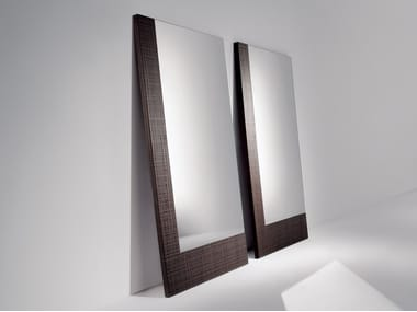 Rectangular wall-mounted mirror BD02