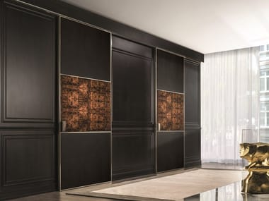 Leather sliding door BE MINE | Door