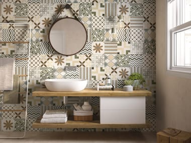 Indoor porcelain stoneware wall/floor tiles BE-SQUARE EASY