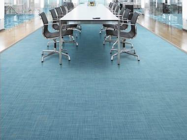 Fireproof Woven vinyl flooring BE TWEED