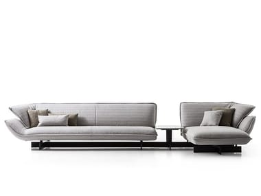 Sectional fabric sofa 550 BEAM SOFA SYSTEM