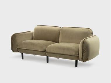 Sofá de veludo BEAN
