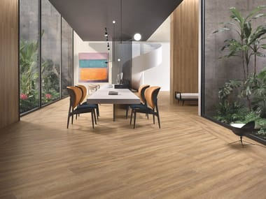 Porcelain stoneware wall/floor tiles with wood effect Beat