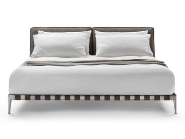Fabric double bed GREGORY | Bed