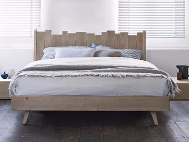 Spruce double bed BARRIQUE | Bed