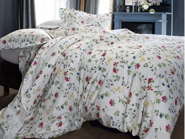 Printed cotton bedding set with floral pattern RENAISSANCE | Bedding set