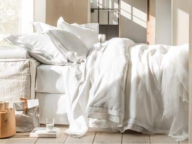 Coordinato letto in lino BASTIDE | Coordinato letto