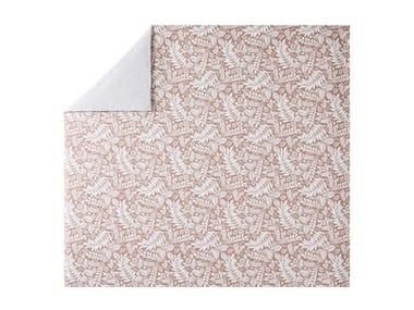 Copripiumino stampato in cotone con motivi floreali L'ÎLE ROUSSE | Copripiumino
