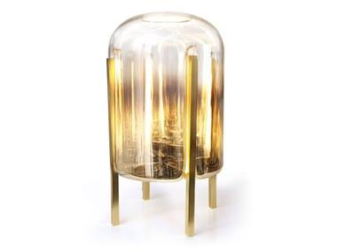 Lampada da tavolo a LED a luce indiretta in vetro BELLADONNA | Lampada da tavolo