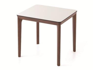 Rectangular wooden table BELLEVUE T05L/FX/M