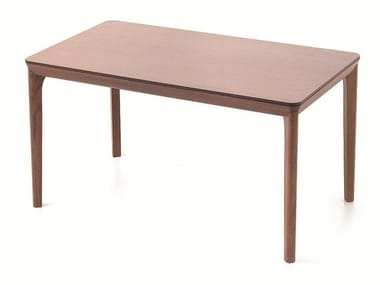 Rectangular wooden table BELLEVUE T07L/FX/M