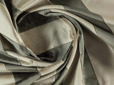Striped washable velvet fabric BELVEDERE
