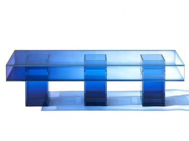 Glass bench NULL | Bench