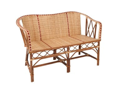 1 Rattan Indoor Benches With Back