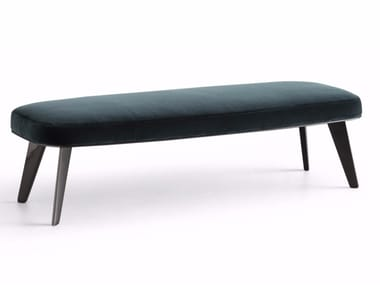 Upholstered fabric bench JANE | Bench