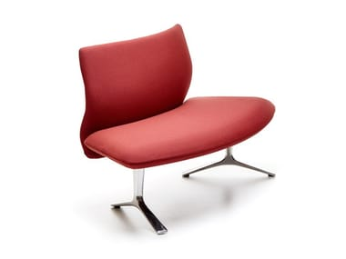 Modular fabric bench seating with back MEWA   Bench seating with back