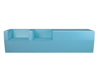 Coated foam bench BLOCK | Bench