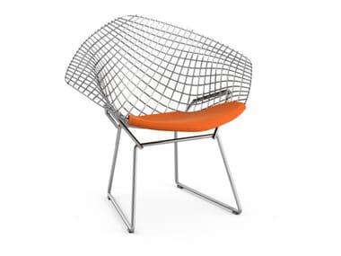 Steel Kids armchair BERTOIA | Kids armchair