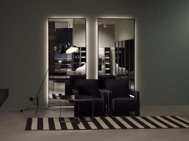 Specchio rettangolare da parete per bagno BESPOKE | Specchio