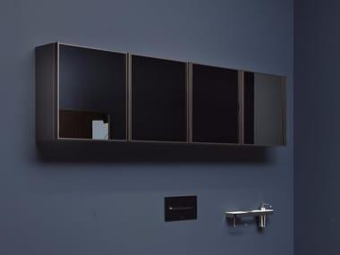 Specchio da parete con contenitore per bagno BESPOKE | Specchio con contenitore
